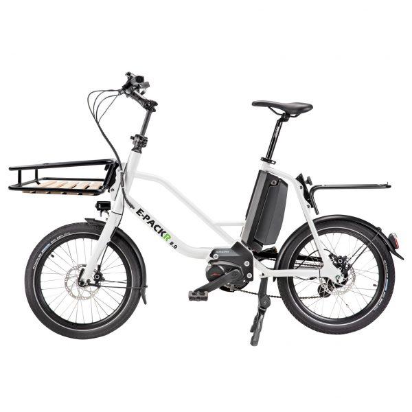 Metz E-PackR 8.0 City-Lastenrad, weiß